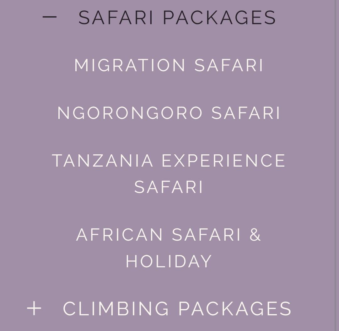 AFRICAN SAFARI & TOUR