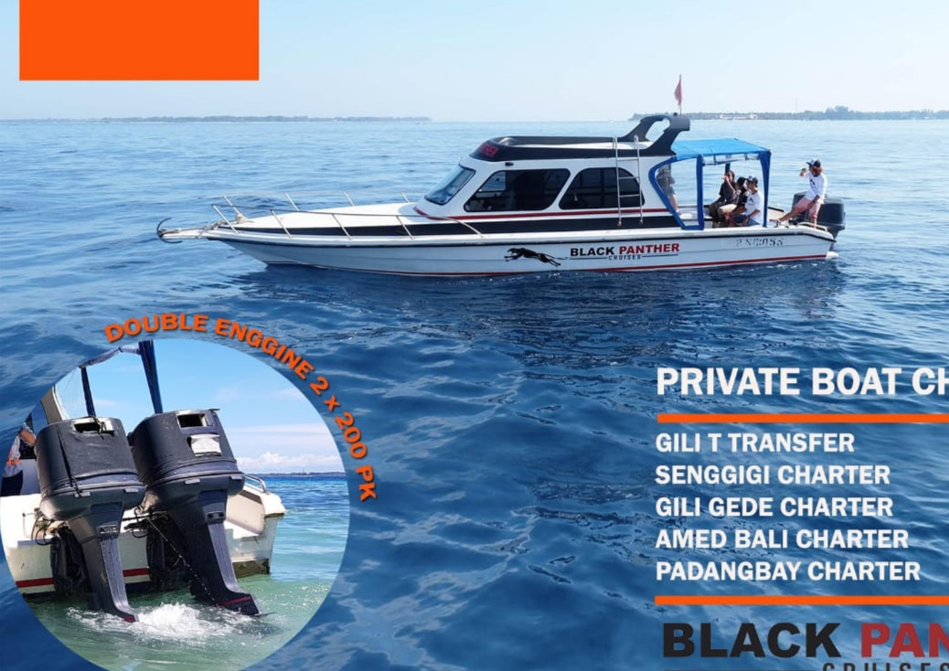 PRIVATE SPEEDBOAT TO BALI, AMED & GILI GEDE